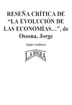 Resultado de imagen para jorge ossona LIBROS